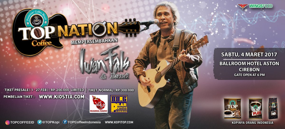Top Nation Konser Iwan Fals  & Band di Cirebon