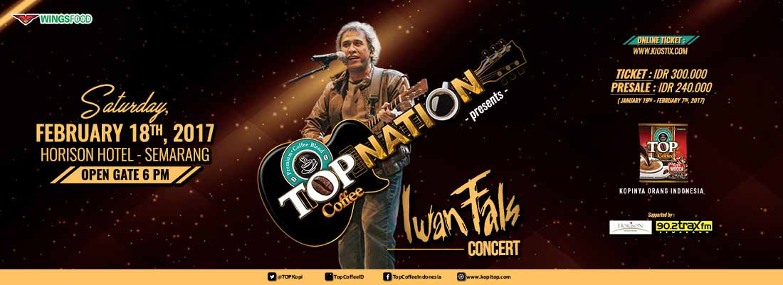 Top Nation Konser Iwan Fals  & Band di Semarang