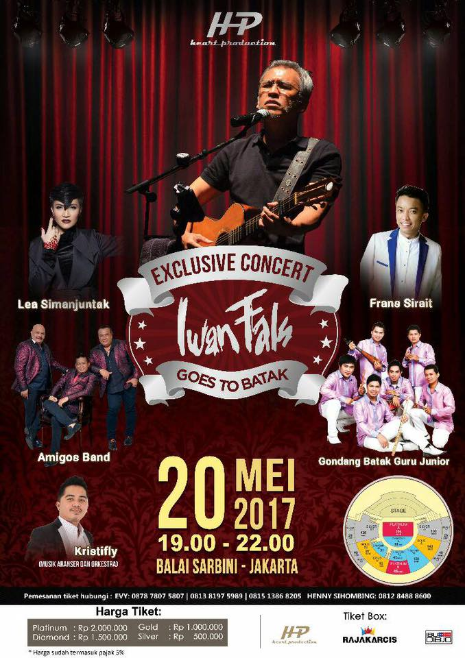 EXCLUSIVE CONCERT IWAN FALS GOES TO BATAK
