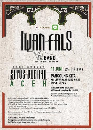 Konser Situs Budaya - Aceh