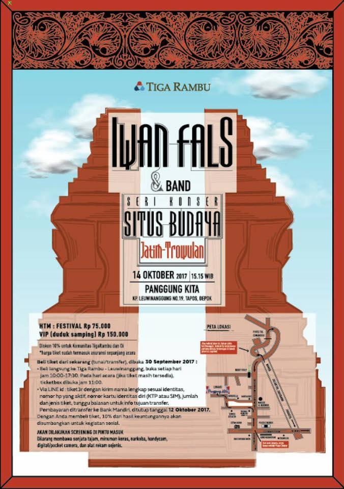 Konser Situs Budaya Jatim-Trowulan