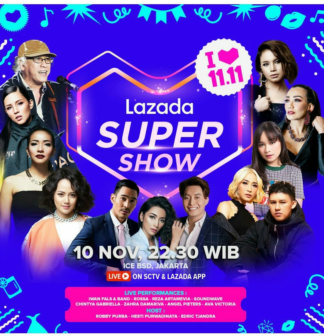 Lazada Super Show